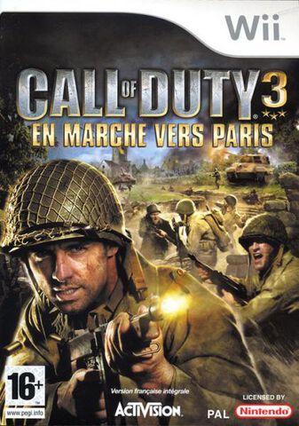 Call Of Duty 3, En Marche Vers Paris