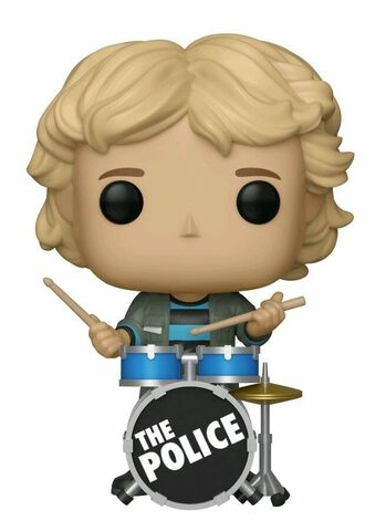 Figurine Funko Pop! N°119 - Rocks - The Police Stewart Copeland