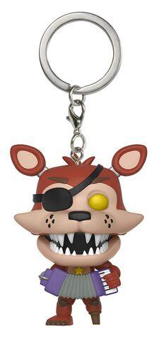 Porte-clés - Five Nights At Freddy's - Pizza Sim Pop Rockstar Foxy
