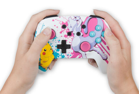 Manette Sans Fil Nintendo Switch Pokémon Battle (exclusivité Micromania)