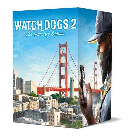 Watch_Dogs 2 Edition Collector San Francisco - Exclusivité Micromania