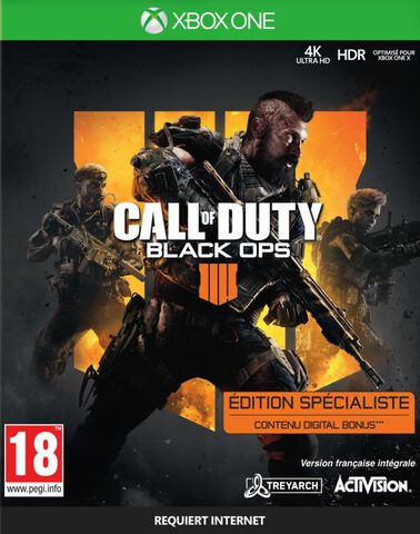 Call Of Duty Black Ops IIII Specialist Edition - Exclusivité Micromania