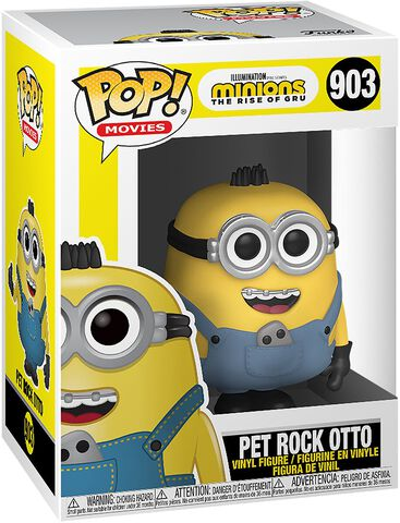 Figurine Funko Pop! N°903 - Minions 2 - Pet Rock Otto