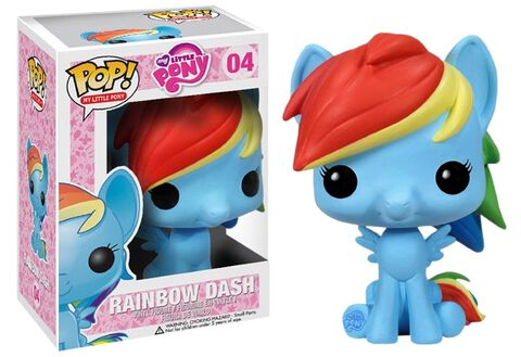 Figurine Funko Pop! N°04 - Mon Petit Poney - Rainbow Dash