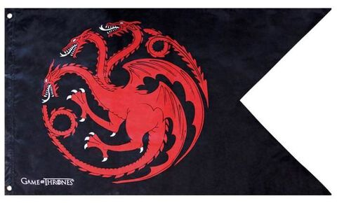 Drapeau - Game Of Thrones - Targaryen (70x120)