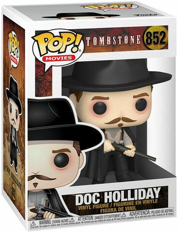 Figurine Funko Pop! N°852 - Tombstone - Doc Holliday