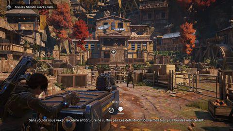 DLC - Gears of War 4 - Largage de départ