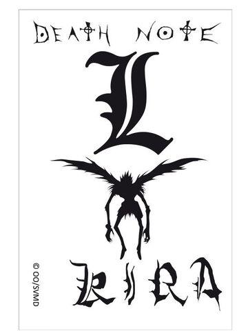 Tatouages - Death Note - Kit 5 Tatouages 15x10cm