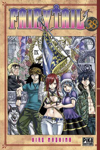 Manga - Fairy Tail - Tome 38
