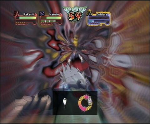 Naruto Shippuden Clash Of Ninja Revolution 3 European Version