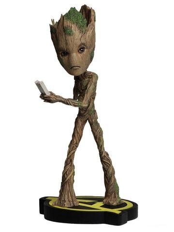 Statuette Neca - Avengers Infinity War - Head Knocker - Groot