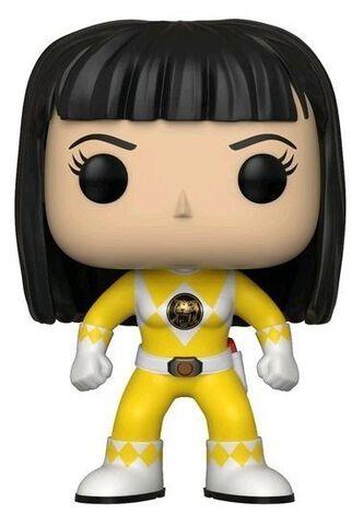 Figurine Funko Pop! N°674 - Power Rangers - Ranger Jaune (sans casque)