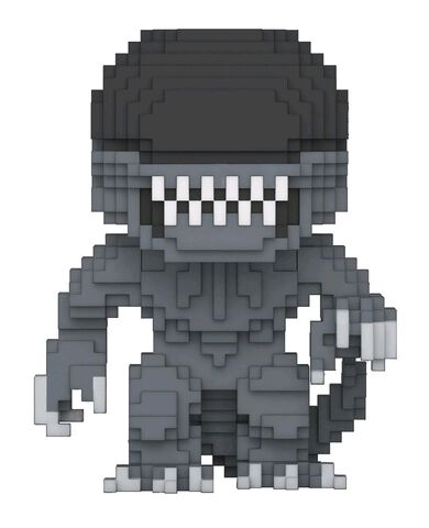 Figurine Funko Pop! N°24 - Alien Vs Predator - Alien 8-bit
