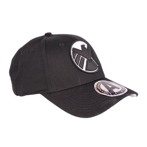Casquette - Marvel - Logo du Shield noir - Taille unique
