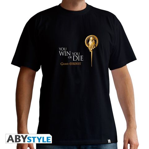 T-shirt - Game of Thrones - Main du Roi - Taille L