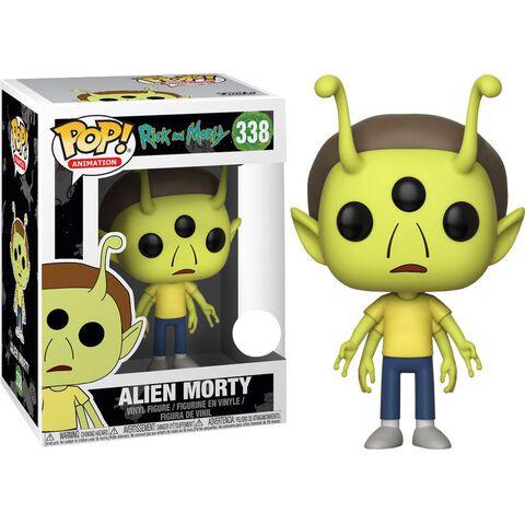 Figurine Funko Pop! N°338 - Rick Et Morty - Alien Head Morty Eccc 2018 (exclusiv