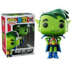 Figurine Toy Pop 337 - Teen Titans Go ! - Beast Boy As Martian Manhunter