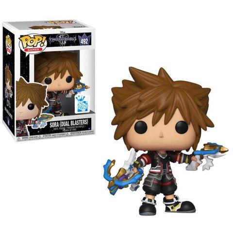 Figurine Funko Pop! N°492 - Kingdom Hearts 3 - Sora avec Dual Blasters - Exclusivité Micromania-Zing