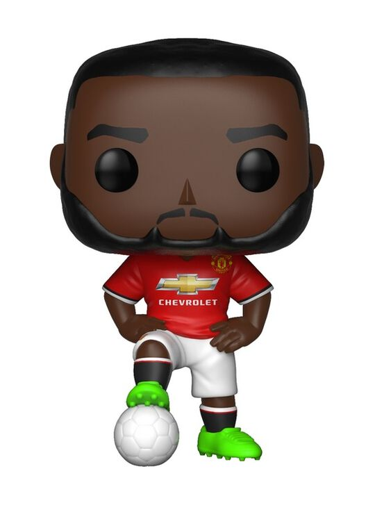 Figurine Funko Pop! N°02 - English Premier League - Manchester United Romelu Lukaku