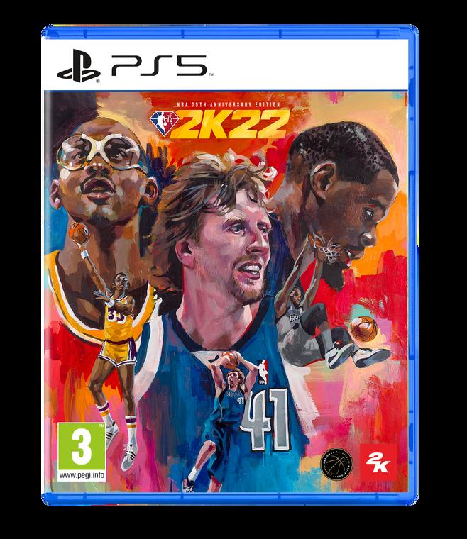 NBA 2k22 Edition 75ème Anniversaire