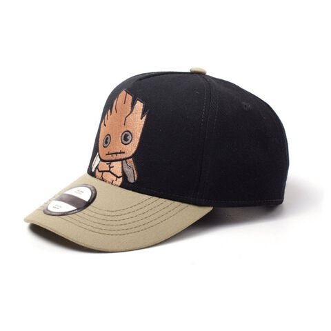 Casquette - Marvel - Kawaii Groot Curved Bill