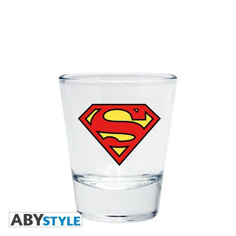 Coffret - DC Comics - Verre 29 cl + Shooter + Mini Mug Superman