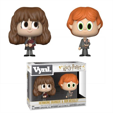 """Figurines Vynl - Harry Potter - Twin Pack Ron Et Hermione 4"""""""