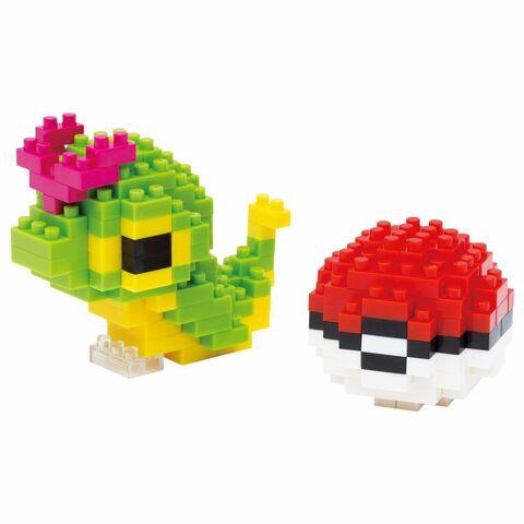 Figurine à monter Nanoblock - Pokémon - Chenipan