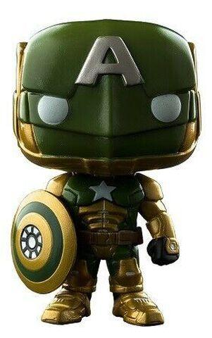 Figurine Funko Pop! N°299 - Marvel Contest of Champions - Civil Warrior Vert