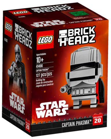 Figurine - Star Wars - Lego Brickheadz Captain Phasma