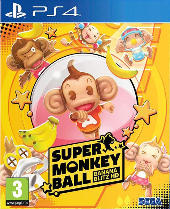 Super Monkey Ball Banana Blitz HD PS4