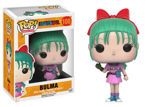 Figurine Funko Pop! N°108 - Dragon Ball Z - Bulma