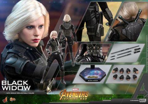 Réplique Hot Toys - Avengers : Infinity War - Veuve Noire 28 cm