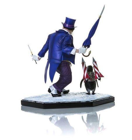 Statuette Iron Studio  - DC Comics - The Penguin Deluxe Art Scale 1/10