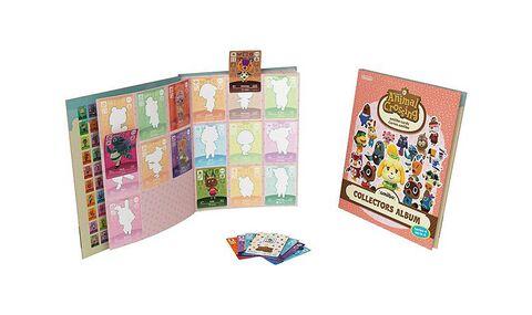 Album Collector Cartes Amiibo Animal Crossing 4 + 3 cartes