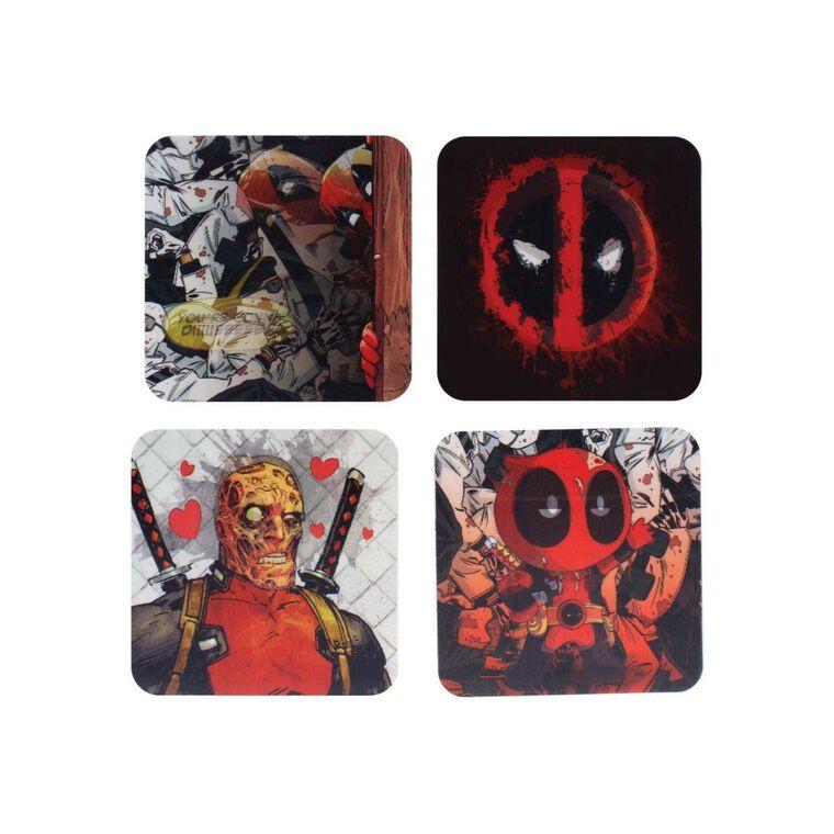 Dessous de verre - Deadpool - Set de 4