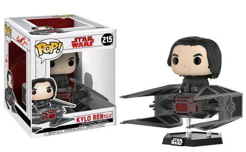 Figurine Funko Pop! N°215 Deluxe - Star Wars 8 - Kylo dans Tie Fighter