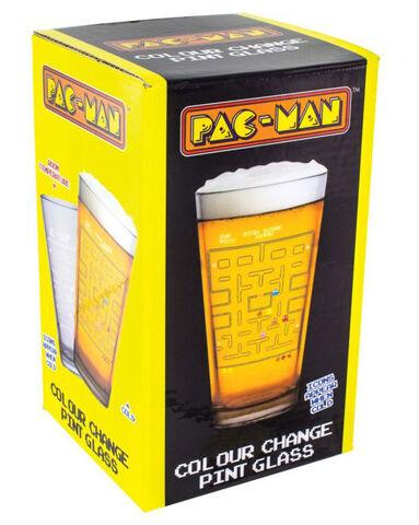 Verre Pac-Man - Change Couleur