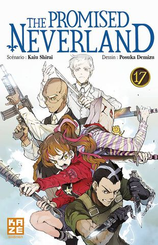 Manga - The Promised Neverland - Tome 17