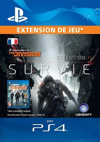 DLC - The Division Survival - PS4