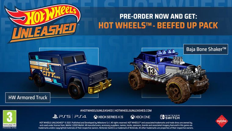Hot Wheels Unleashed Challenge Accepted Edition