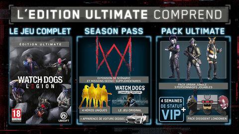 Watch Dogs Legion Edition Ultimate Exclusivite Micromania