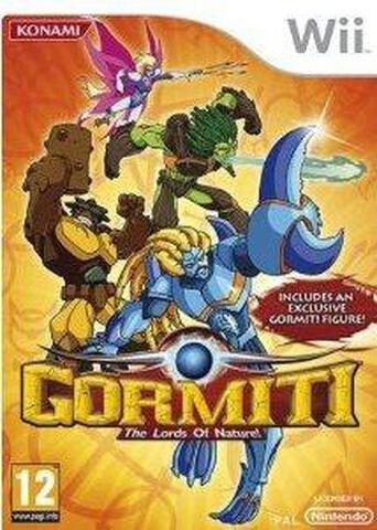Gormiti : Les Seigneurs de la Nature (sans la figurine)