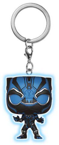Porte-clés - Black Panther - Phosphorescent