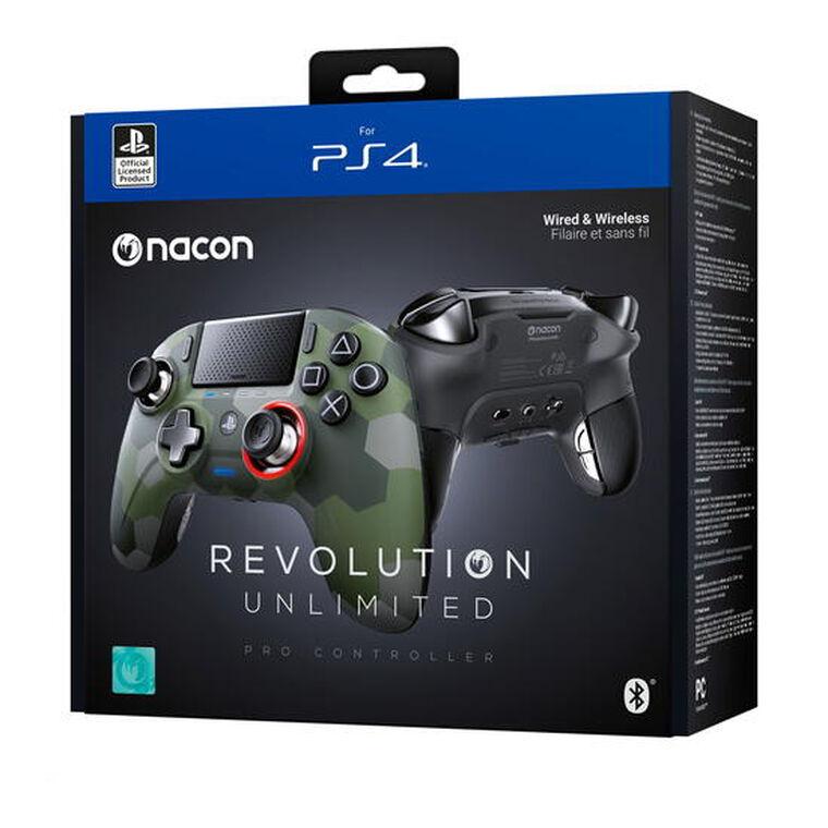 Manette Officielle Revolution Unlimited Pro Controller Camo Green