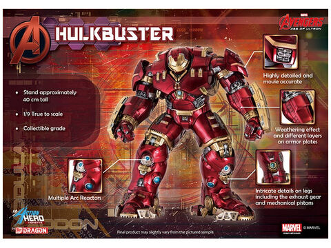 Statuette - Avengers L'ere D'ultron - Hulkbuster 40 Cm