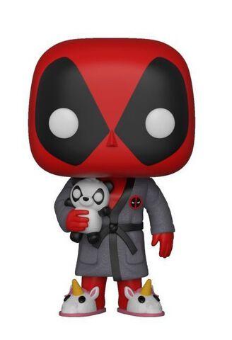 Figurine Funko Pop! N°327 - Deadpool - Deadpool En Robe De Chambre