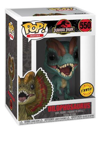 Figurine Funko Pop! N°550 - Jurassic Park - Dilophosaurus