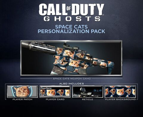Dlc Call Of Duty Ghosts Pack Chats De L'espace Ps3/ps4