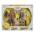 Figurine - X-Men - Hawkeye et Logan